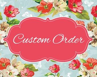 Special order for Christiane for a Tu-Tu poncho