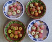 New bowls  - rustic bowls of eating apples