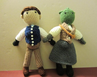 Friends and Companions Doctor Who Amigurumi