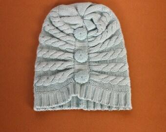 Mint Bella Cashmere Hat