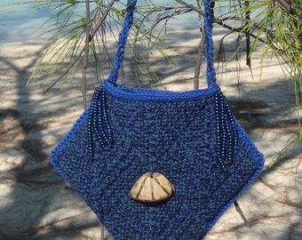 Island Modular Purse Knitting Pattern pdf