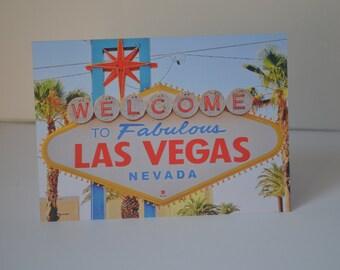 Las Vegas A6 Card