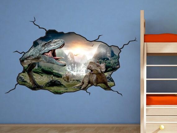 Dinosaur Wall Decal T-Rex Kids Bedroom