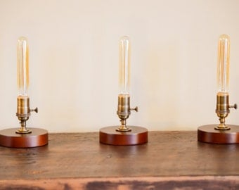 Table Lamp Vintage Style with FREE BULB