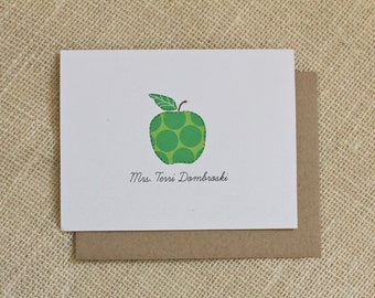 Personalized notecards for Teachers