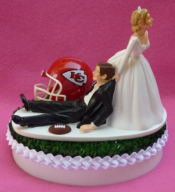 wedding cakes kansas city wedding cake topper kansas city chiefs kc football themed 24835
