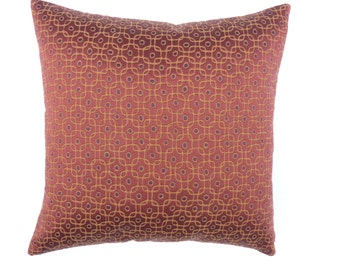 """Pollack Mid Century Modern style - Accent Pillow -  17"""" x 17"""" with feather/down insert"""