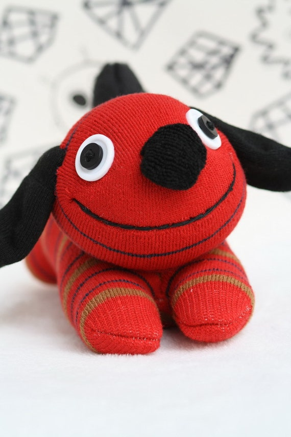 how to make stuffed toys from socks