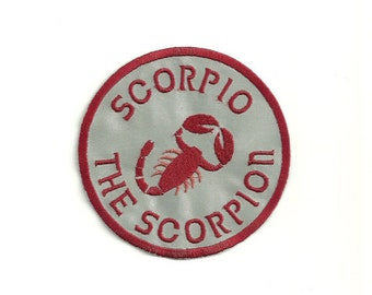 Scorpio The Scorpion, Zodiac Patch! Custom Made!
