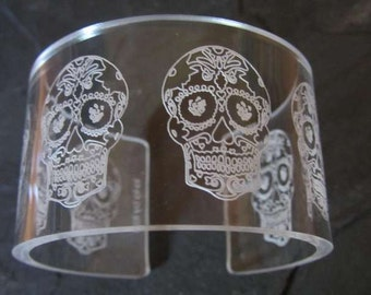 Sugar Skull Cuff (6 skull)