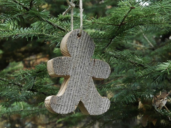Items similar to barnwood christmas ornaments rustic