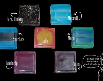 Fandom Soap: BBC Sherlock Complete Set