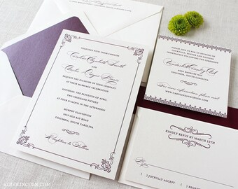 celtic wedding invitations  etsy, invitation samples