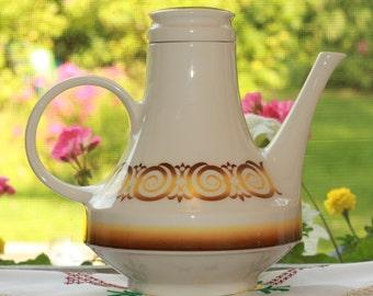 PRICED REDUCED!  Teapot, coffeepot, vintage coffee pot,  vintage teapot, Retro