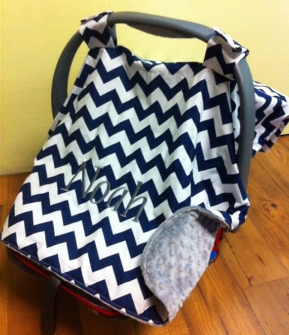 Baby Infant Carrier Canopy Car Seat Minky Customthreadsshop