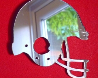 American Footballers Helmet Shaped Mirrors - 5 Sizes Available