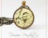 Beautiful Bird Necklace Bird Pendant Image Jewelry 0336AGC