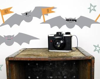 Halloween Wall Decals - Bat Wall Decals