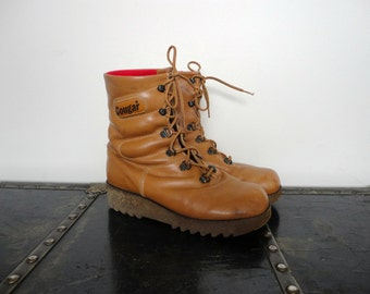 70s 80s Rare Cougar Iconic Winter Hiking Boot 1970 S