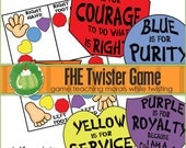 FHE TWISTER Game - Downloadable PDF File