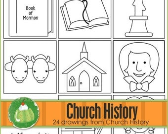 CHURCH HISTORY I Can Draw Book