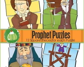 PROPHET PUZZLES - Downloadable PDF File