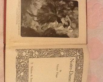 Vintage  Notre-Dame Book