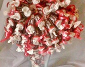 candy arrangement -bouquet - sundae - centerpiece - edible gift - tootsie roll - peppermint - butterscotch - bubblegum -candy bouquet