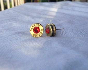 Blazer 40 S&W Earrings with Swarovski crystals