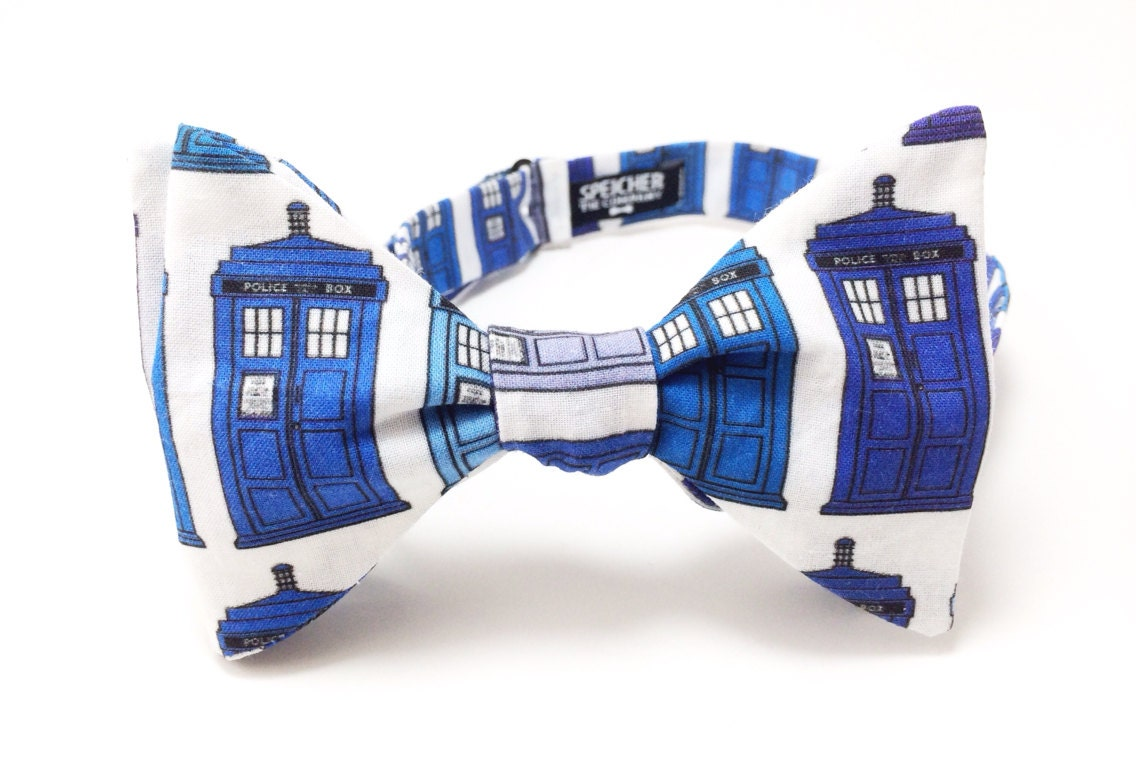 tardis doctor who bow tie bowtie bow ties by speicherbowtieco