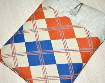 iPad Case, iPad Sleeve, iPad Air Cover, Handmade and Padded, Custom Sizing Available