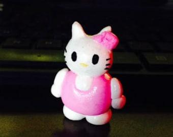 Hello Kitty Figurine//Hello Kitty Toy//Hello Kitty