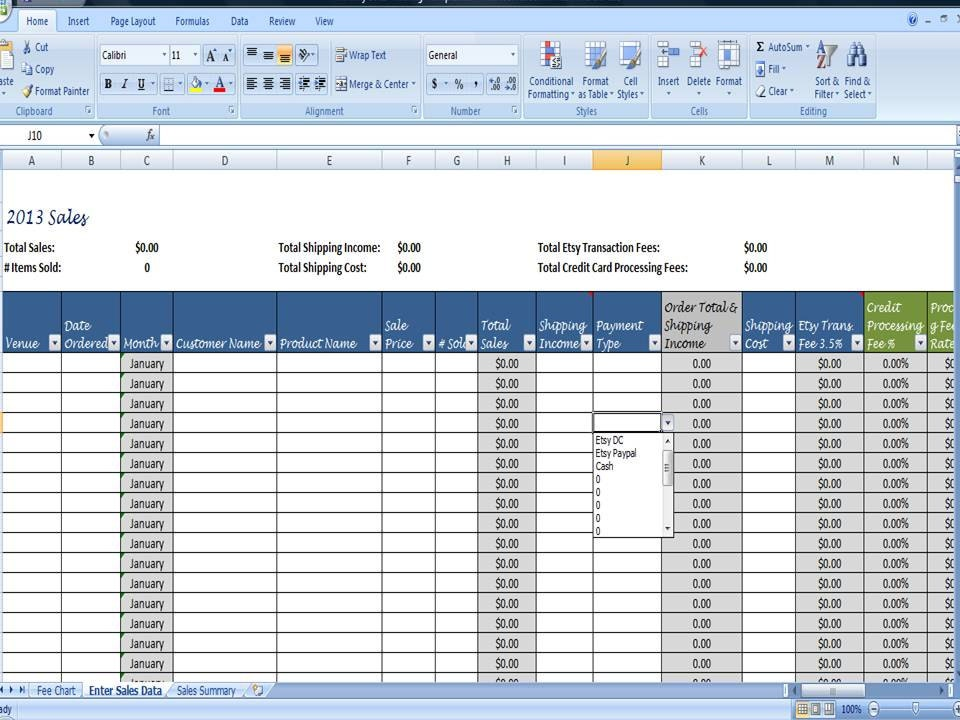 Monthly Sales Tracking Template Monthly Sales Tracking