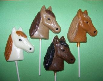 10 pc. Horse Lollipops