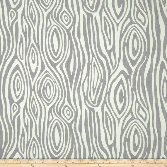 grey wood grain fabric by the yard home decor premier prints willow storm cotton tree faux bois 1 yard or more ships fast from on etsy
