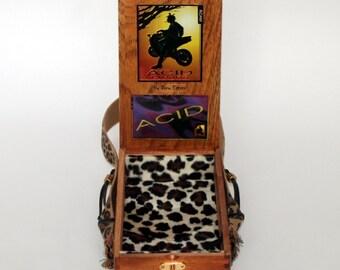 Cigar Box Purse   Wood Box   Handbag