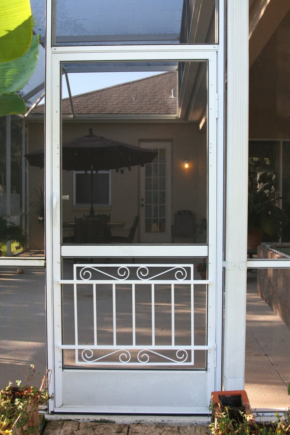 Screen Door Grille Cottage Collection Decorative