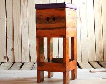 Sgabello pallet stool