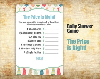 Photography business forms prints price sheet by for Baby shower cost
