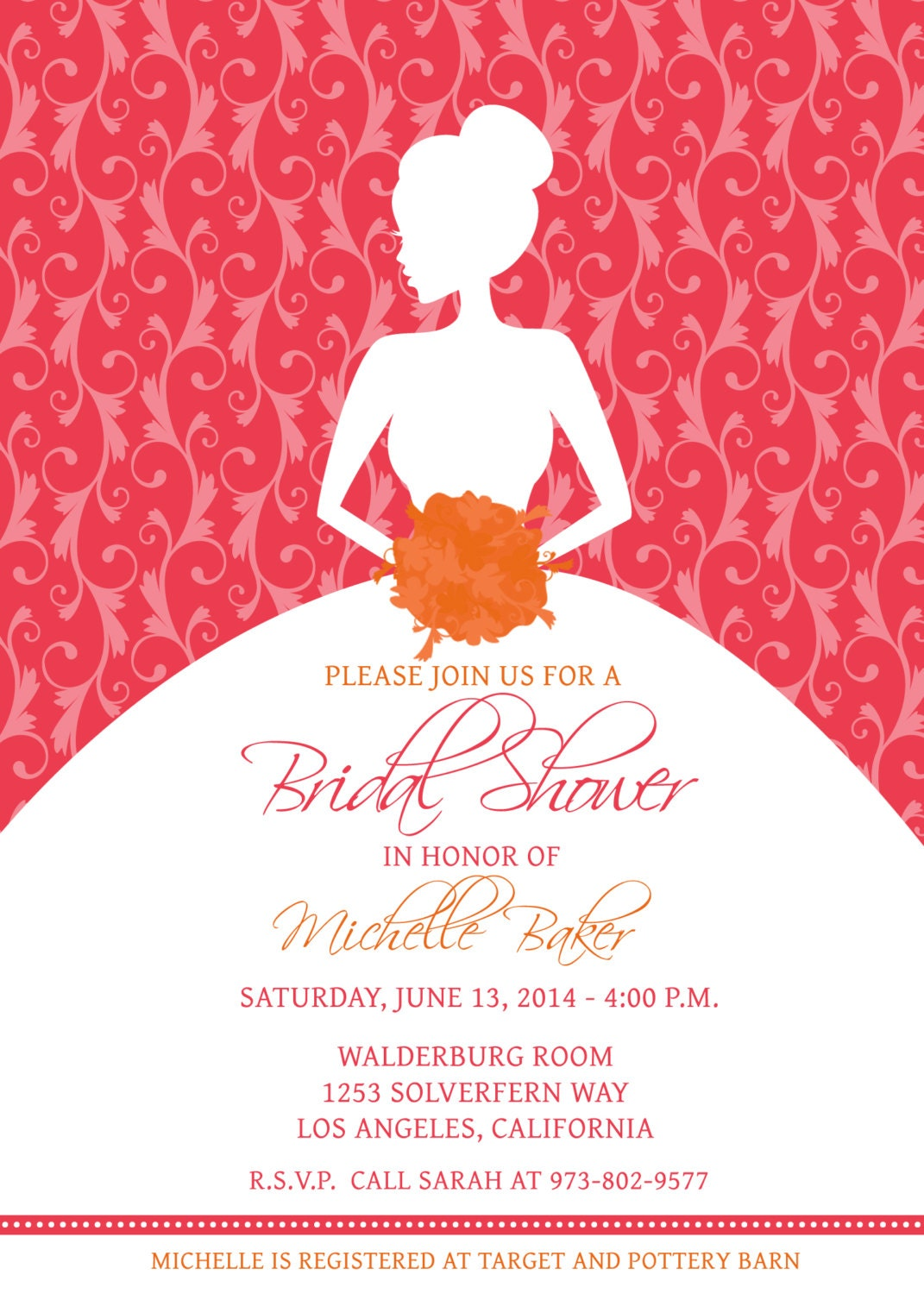 Bridal Shower Invitations: Bridal Shower Invitation Maker Free