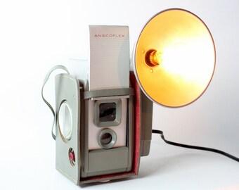 Reading Lamp - Task Lamp  - Ansco Anscoflex Vintage Camera