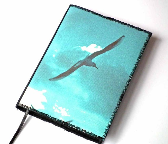 Notebook Cover Art : Notebook cover a seagulls printed canvas photo art