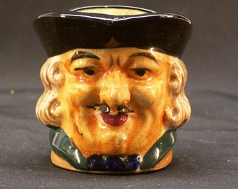 Small Toby Character Jug Vintage 1950's Made in Japan and Marked