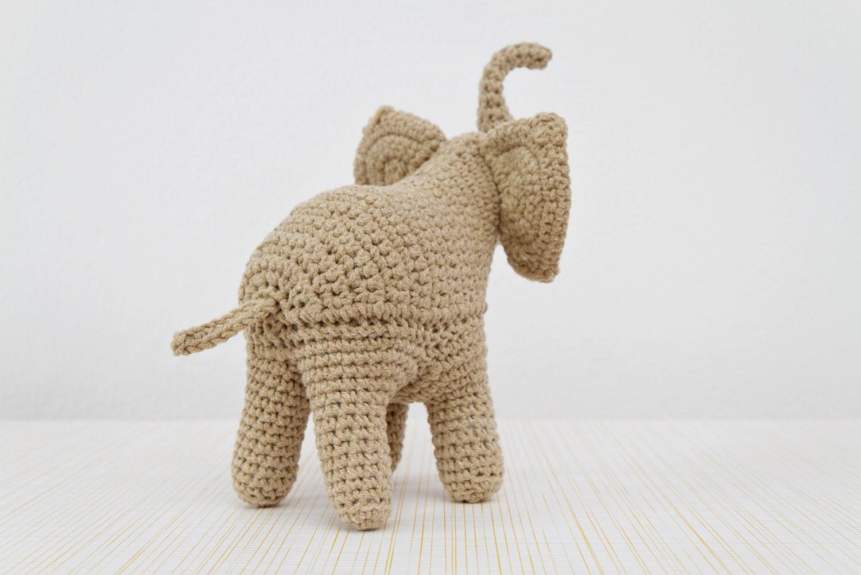 elefant h keln muster elefant amigurumi von stuffthebody auf etsy. Black Bedroom Furniture Sets. Home Design Ideas