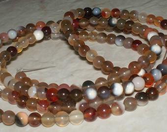 4MM - Natural Multi Agate Gemstones