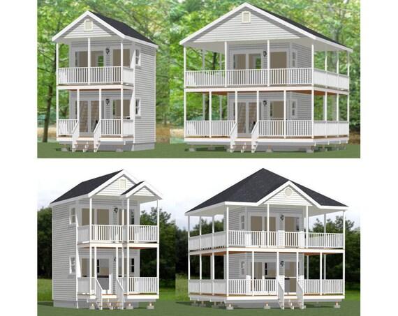 il_570xN.510331431_evcx items similar to 12x12 house w loft pdf floor plans 268 sq,12x12 Tiny House Plans
