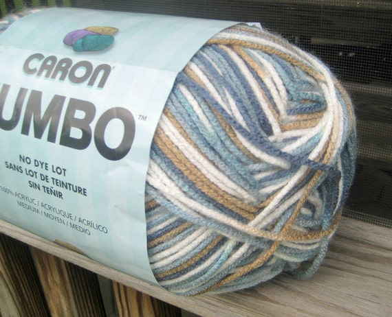 Caron Jumbo Baby Prints Ombre Variegated Yarn Country
