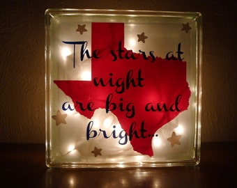 The Stars at Night are Big and Bright in Texas Night Light