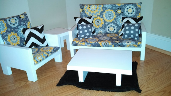 Etsy your place to buy and sell all things handmade American girl doll living room furniture