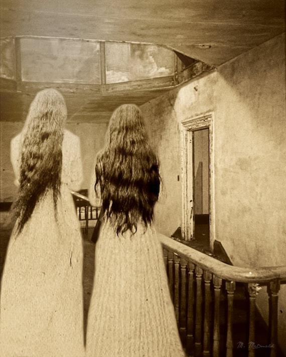 Items Similar To Halloween Creepy Art Victorian Gothic